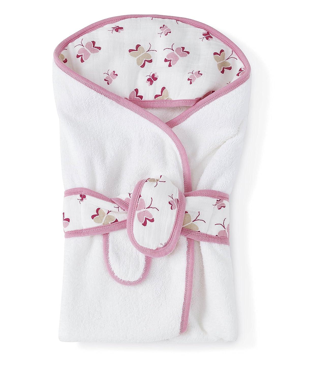 Aden and Anais Princess Posie Baby Bath wraps New