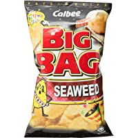 Calbee Big Bag Potato Chips, Seaweed, 165g