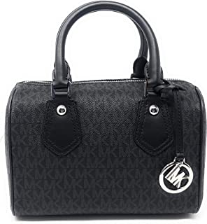 ba21bcbf3194e Amazon.com  Michael Kors Emmy Ladies Small PVC Dome Satchel Handbag ...