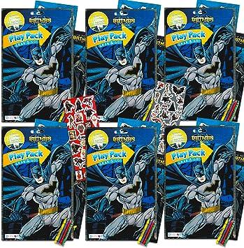 dc comics Batman Party Favors Pack ~ Paquete de 6 Batman Play ...