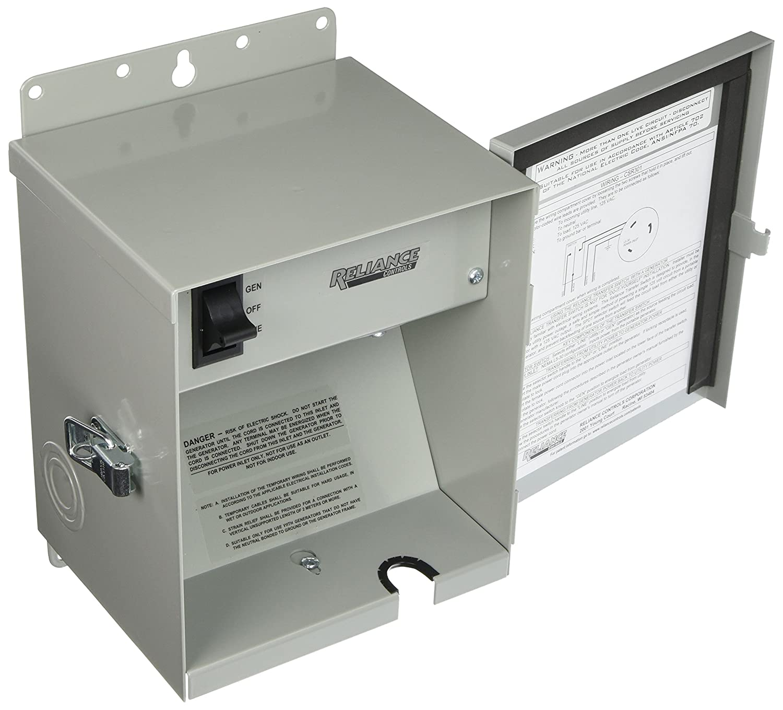 Reliance Controls Corporation Csr301 Easy Tran Transfer Generator Switch Wiring Diagram Price For 3750 Running Watt Generators Garden Outdoor