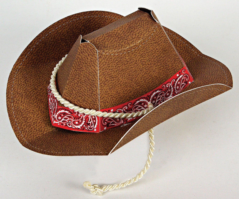 Amazon.com: MERI MERI Howdy Cowboy Party Hat, 8 Per Box: Toys & Games