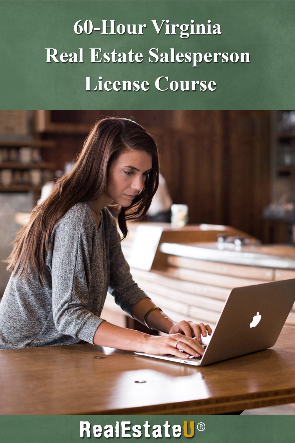 60-Hour Virginia Real Estate Salesperson License Course [Online Code]