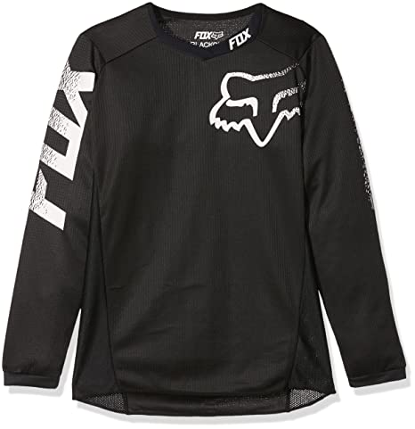 b36dd8caa Image Unavailable. Image not available for. Color  Fox Racing 2019 Youth  Blackout Jersey ...