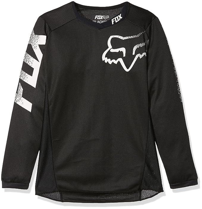Fox Racing Blackout Youth Boys Off-Road Jerseys para Moto c771a08b4dd