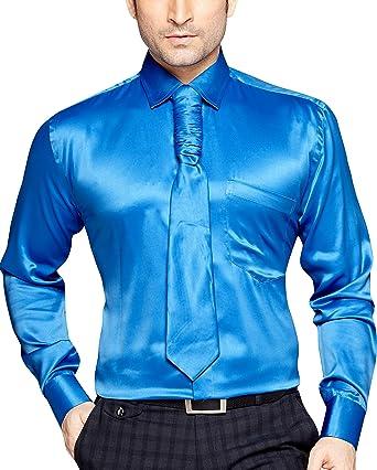 herren satin hemd