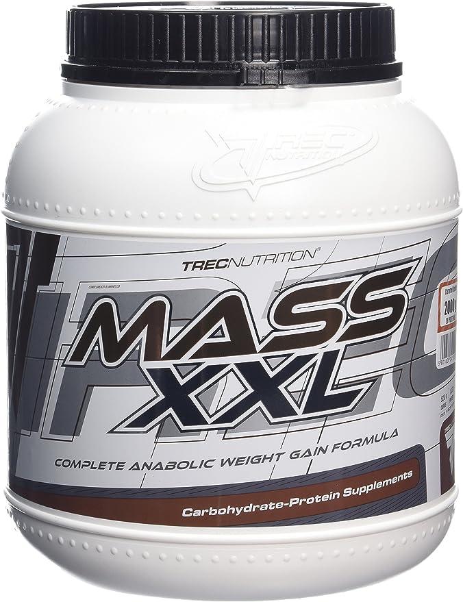 Trec Nutrition MASS XXL 2000g Vanilla Complete Anabolic ...
