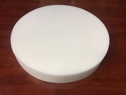 Made in USA Bar Stools, Seat Cushion, Pouf Insert, Patio Round Cushion Replacement FoamRush 2 x 14 x 14 Diameter Premium Quality High Density Upholstery Foam