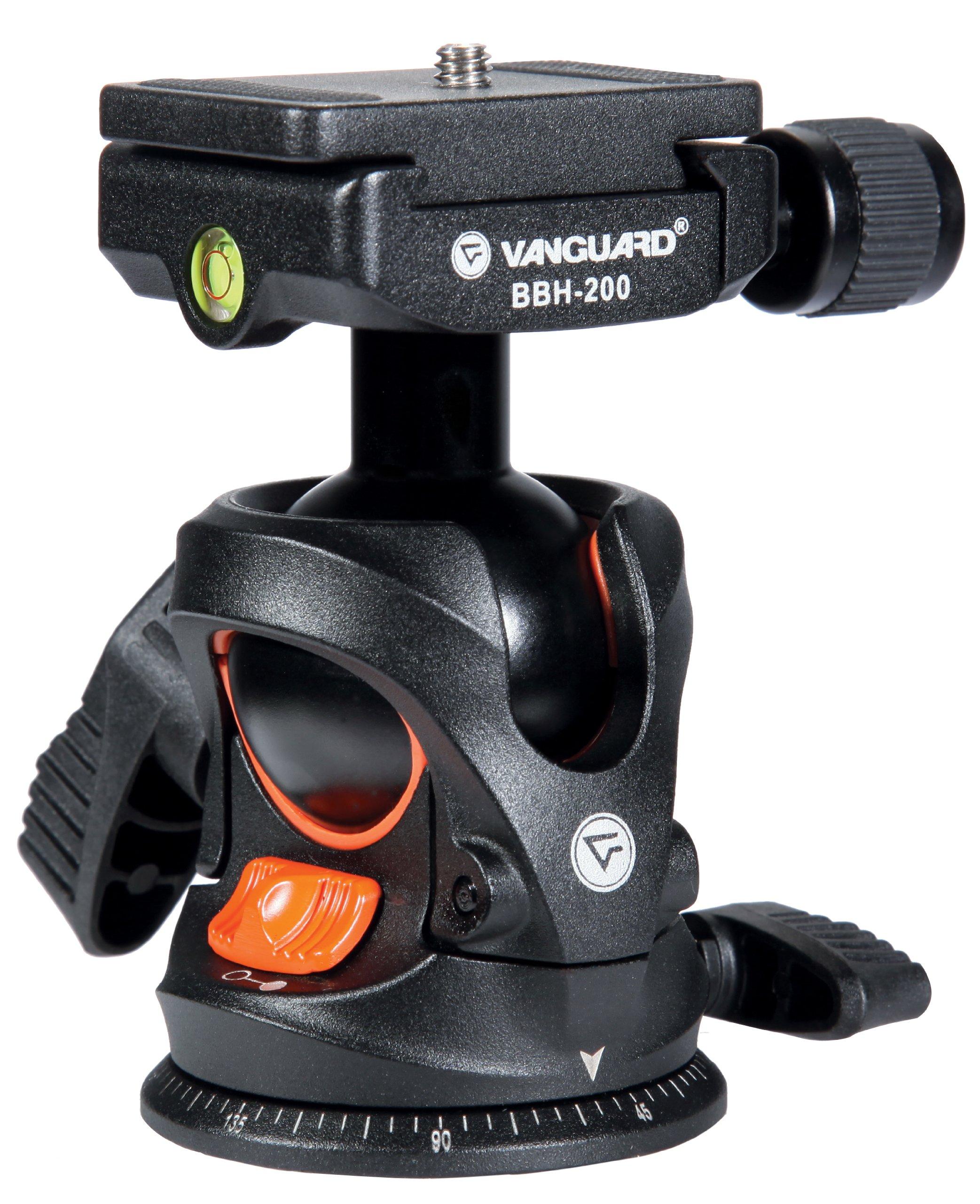 Vanguard BBH-200 - Rótula de bola de aleación de magnesio para trípode, negro