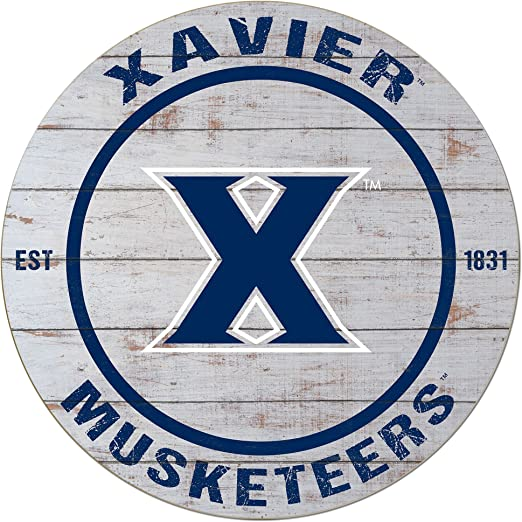 KH Sports Fan 27x23 Road to Victory Xavier Ohio Musketeers 4 pc Canvas Set