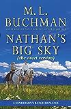 Nathan's Big Sky (sweet): a Henderson Ranch Big Sky romance  (Henderson's Ranch - sweet Book 3)