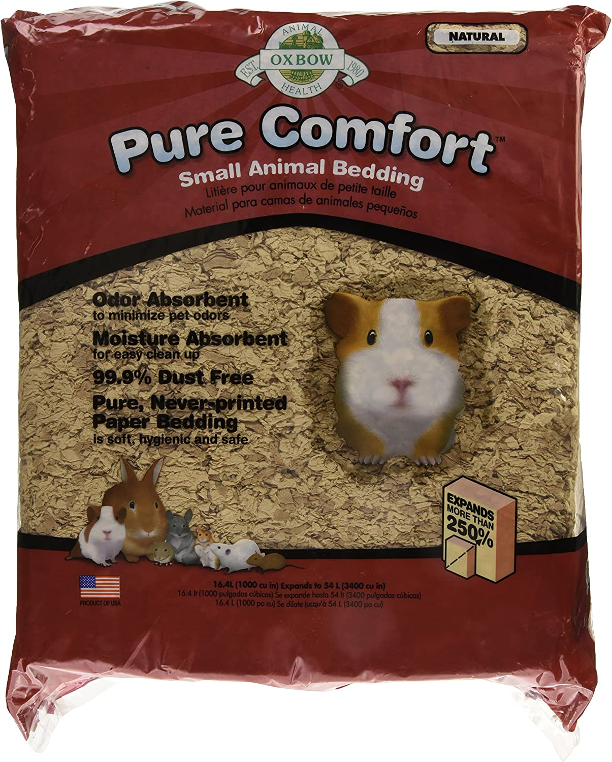 Oxbow Pure Comfort Bedding - Natural - 54 L