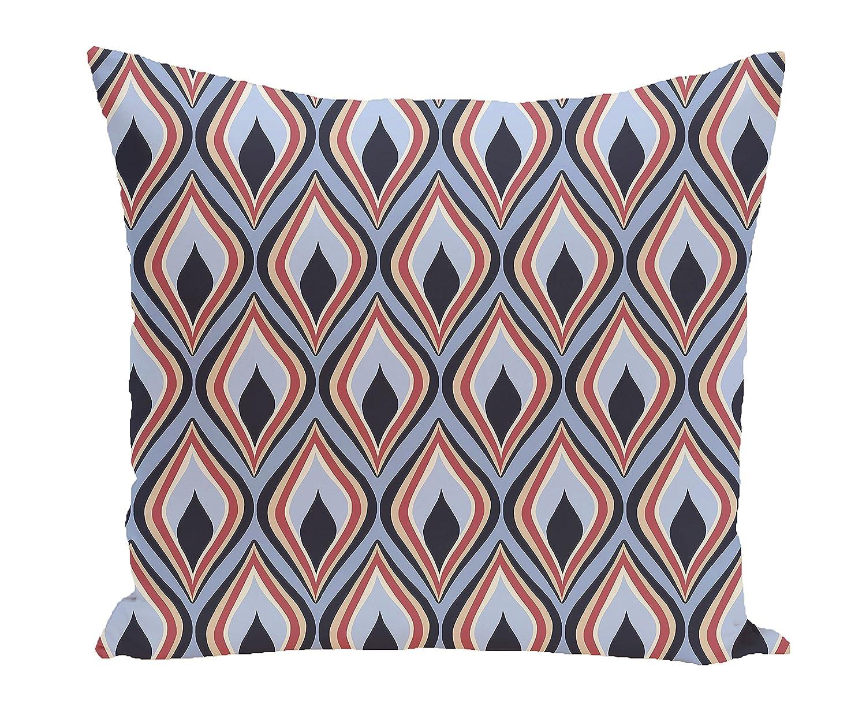 E by design Decorative Pillow Light, Navy Blue