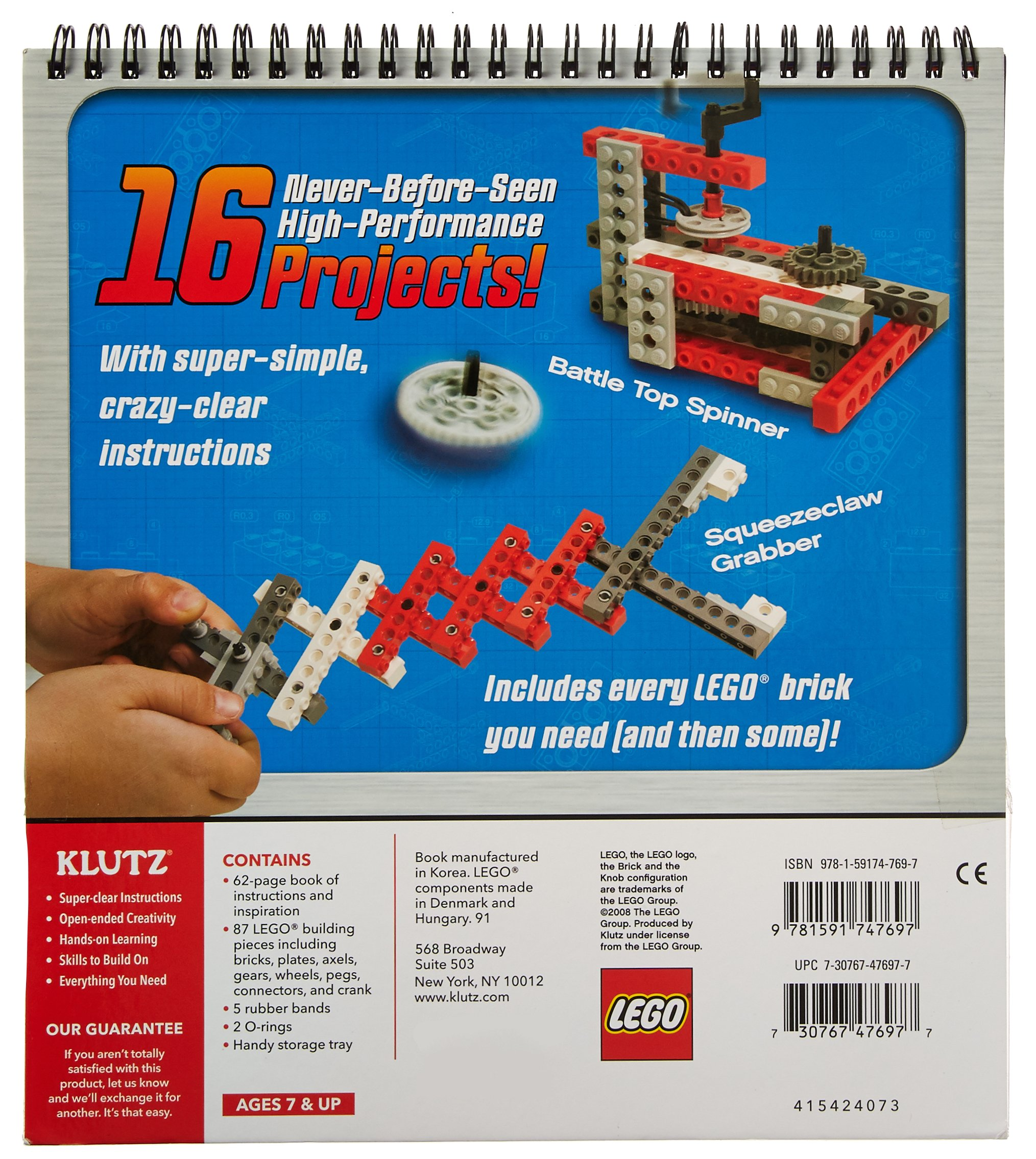 Lego Crazy Action Contraptions Book Kit (Klutz): Amazon.co.uk: Doug ...