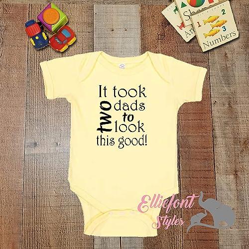 2 dads//LGBT Gay//Baby shower gift//Newborn Gift My Daddies Love Me Infant One Piece//Two Dads Bodysuit//Proud Children