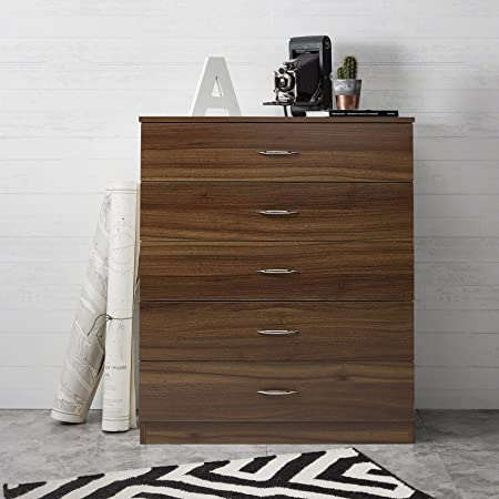 Laura James Tall Chest of Drawers | 5 Drawer | Bedroom Furniture ...