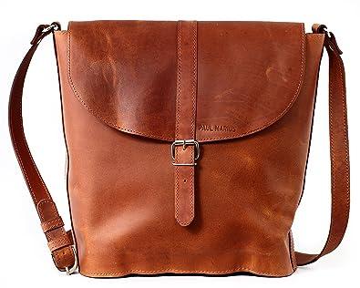 PAUL MARIUS leather bucket bag for women L AUTHENTIQUE (M)  Amazon ... 6b5c8acf334f9