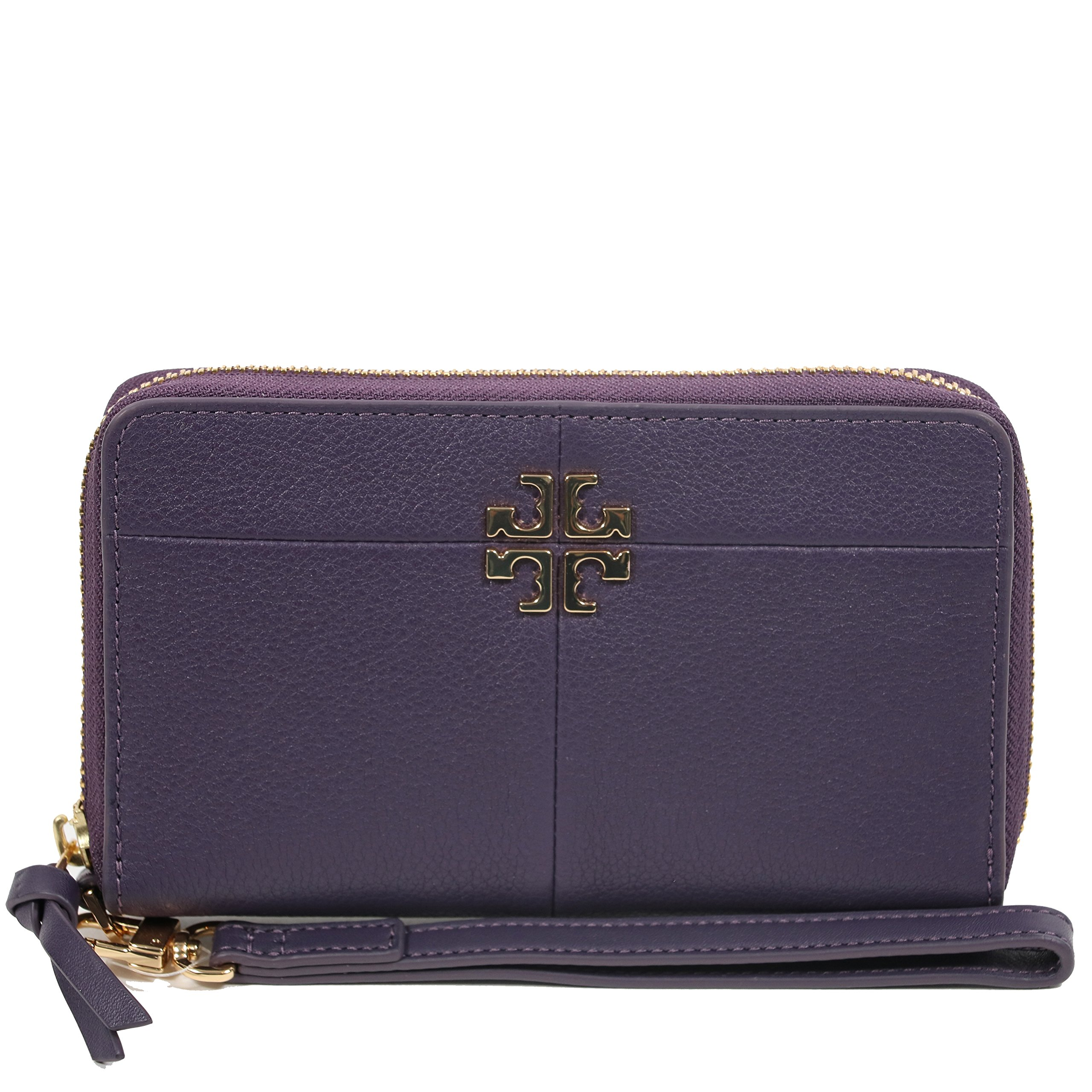 Tory Burch Wallet Wristlet Ivy Smartphone (Nightshade) by Tory Burch