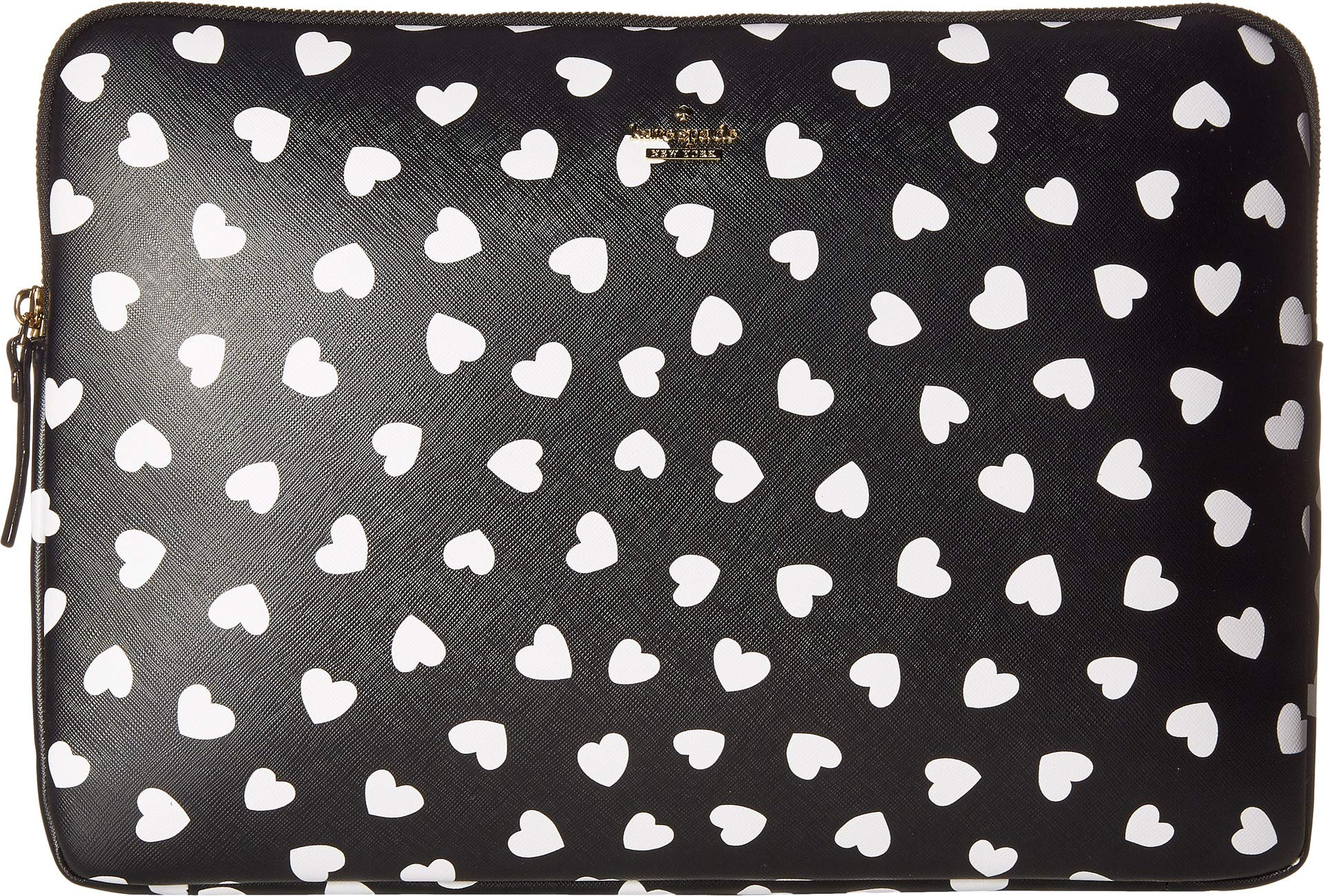 Kate Spade New York Heartbeat Universal Laptop Sleeve, Black/Cream, One Size by Kate Spade New York (Image #1)