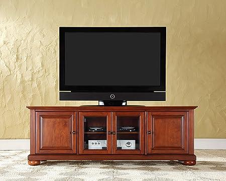 Crosley Furniture KF10005ACH Alexandria 60-inch Low-Profile TV Stand, Classic Cherry