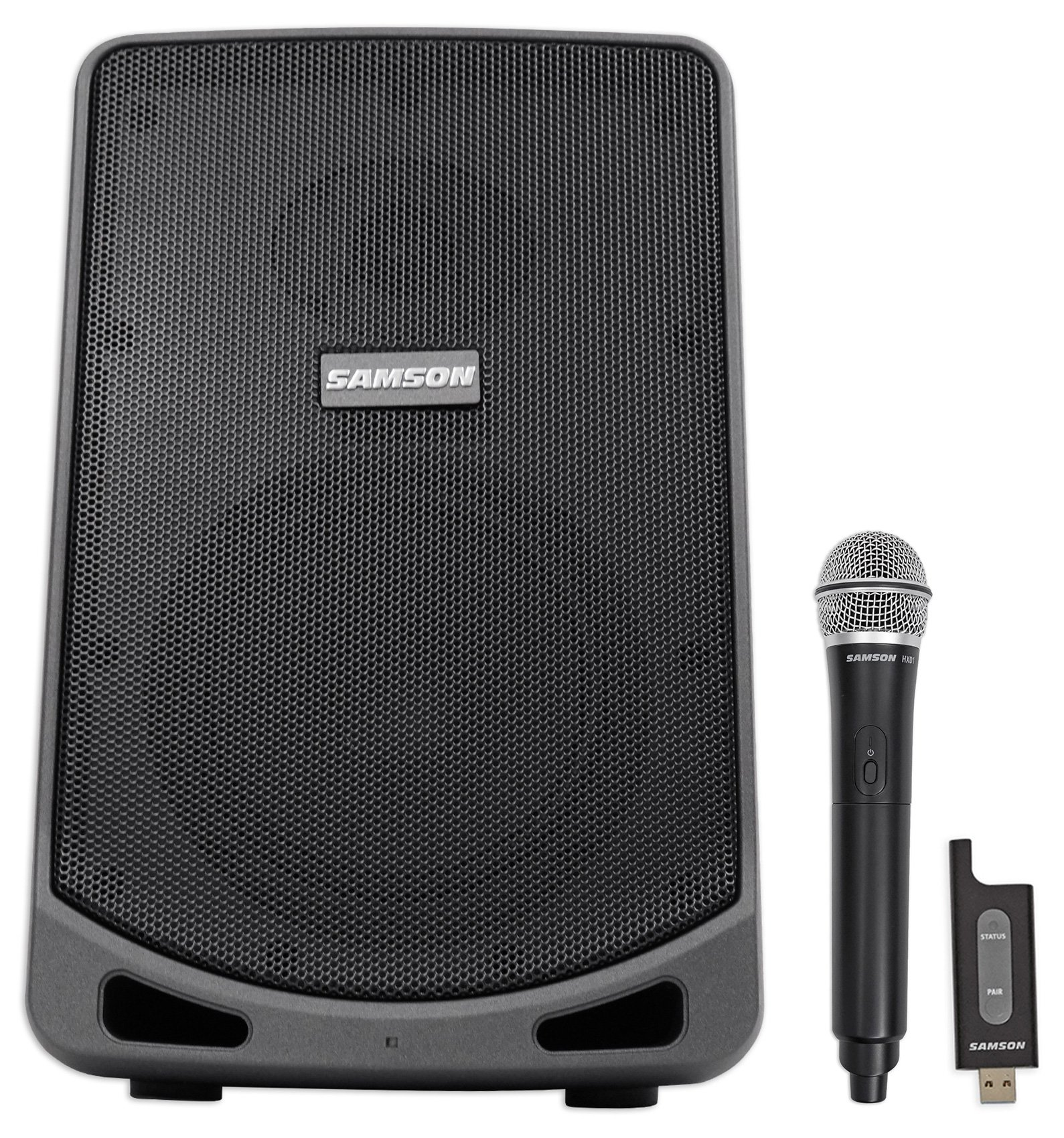Samson 6'' Portable Rechargeable Speaker+Mic For Workout, Yoga, Spin, Fitness