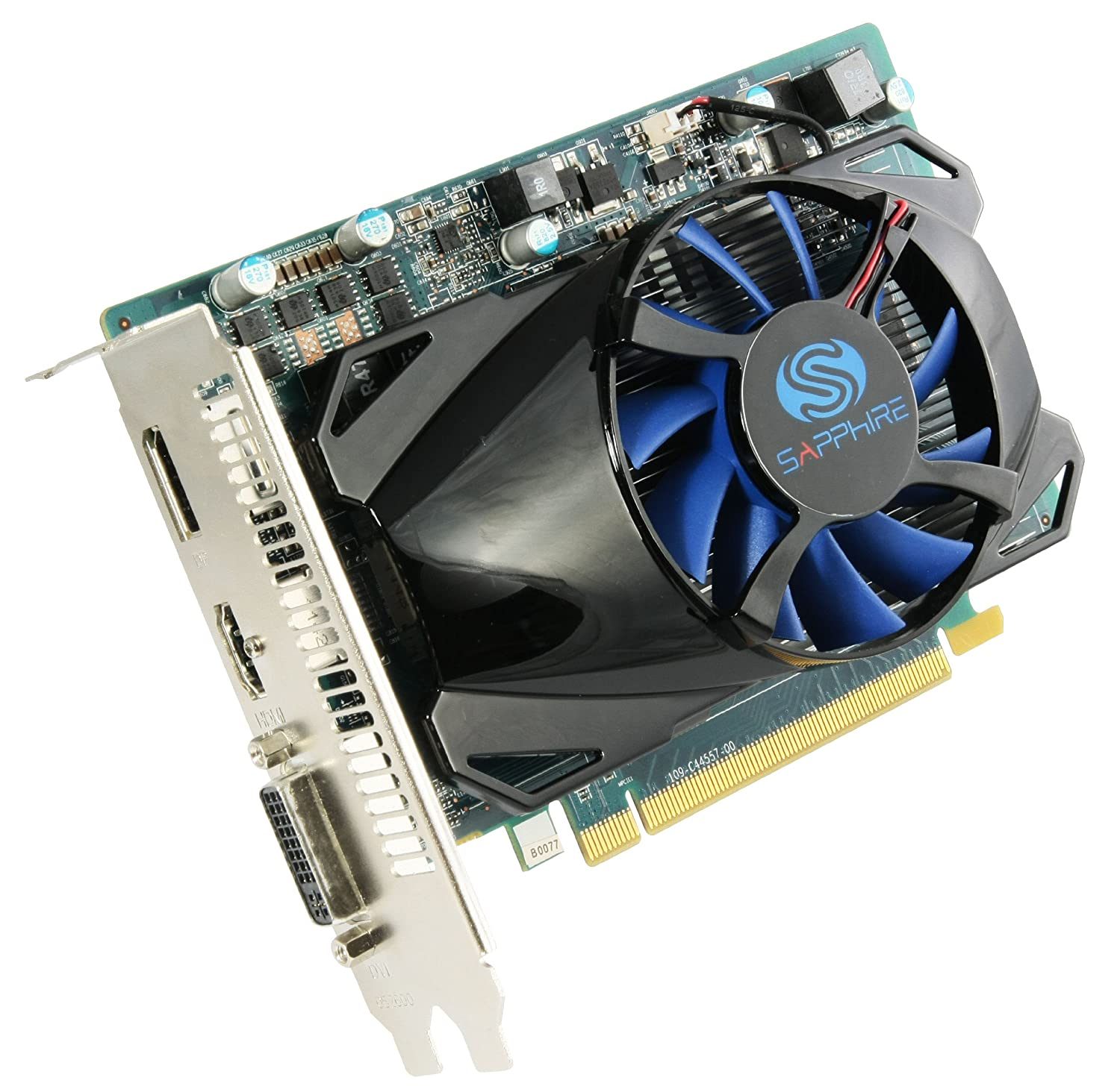 Sapphire Radeon HD 7750 1GB DDR5 HDMI / DVI-I / DP PCI-Express Graphics Card 11202-00-20G