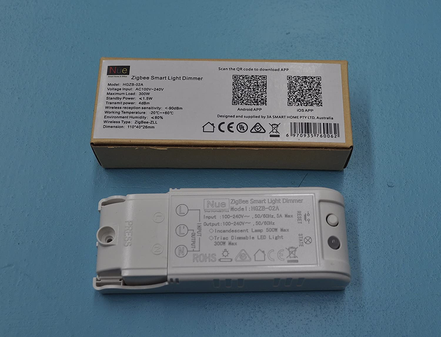 Au Nz Approved Smart Zigbee In Ceiling Light Dimmer For Upgrading Triac Based Lamp Normal Lights And Switches To Wireless Home Automation Google Amazon Echo Dot