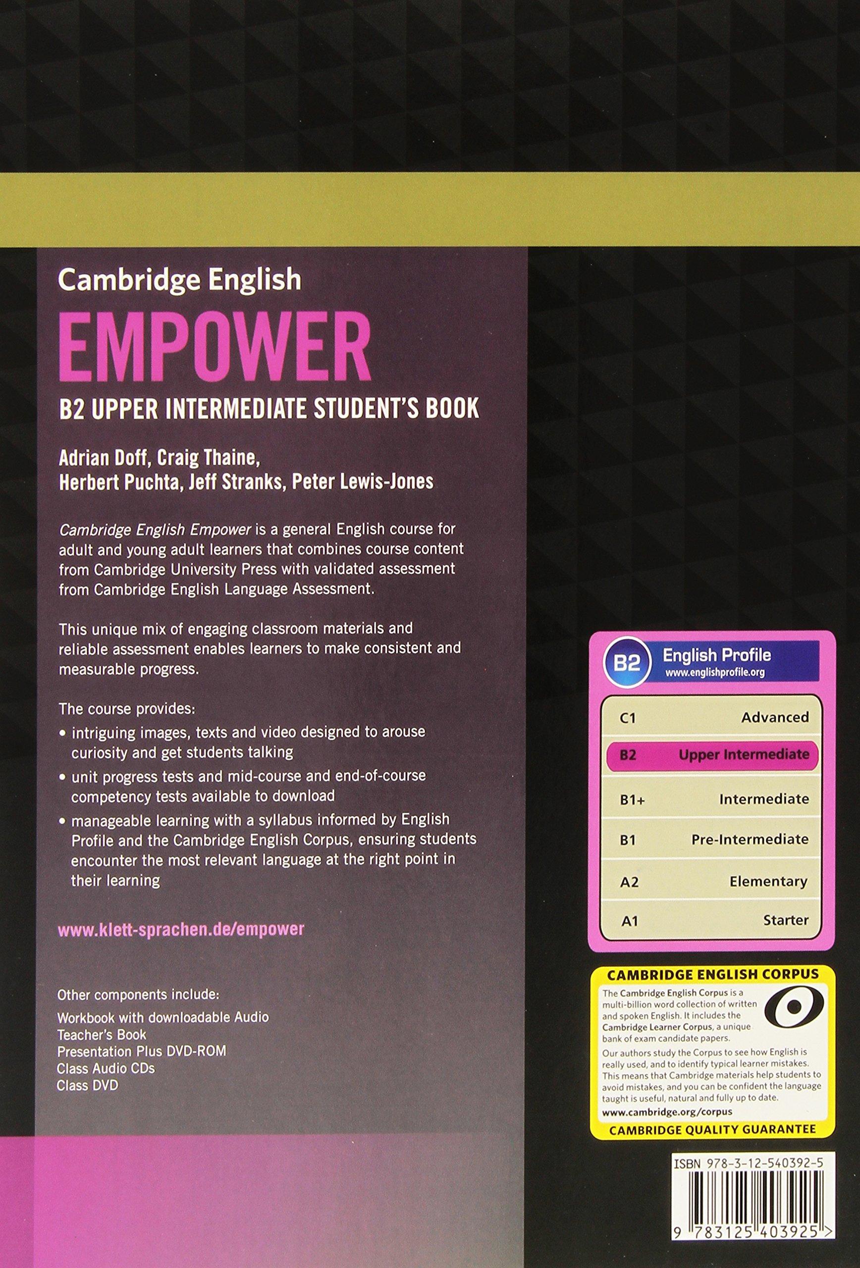 Cambridge English Empower B2: Student's Book: Amazon de: Adrian Doff