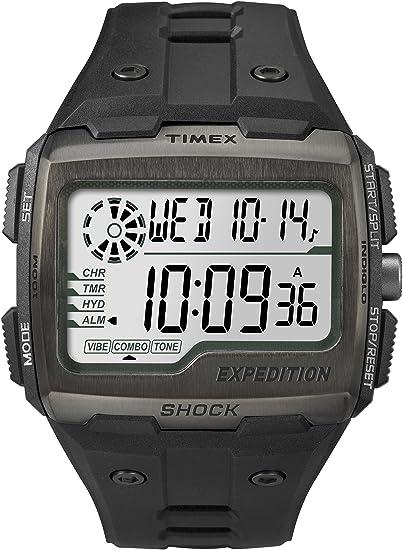 Amazon.com: Timex TW4B02500 Mens Expedition Digital Shock Black Chrono Watch: Timex: Watches