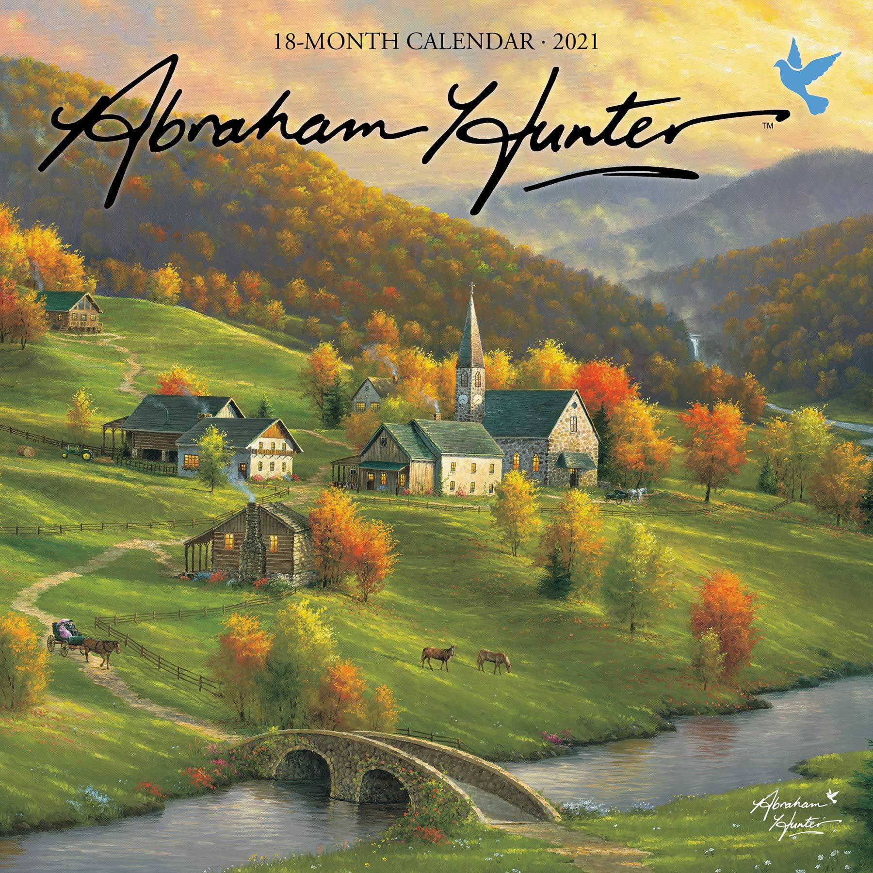Hunter Fall 2021 Calendar Abraham Hunter 2021 Calendar: Hunter, Abraham: 9781645911654