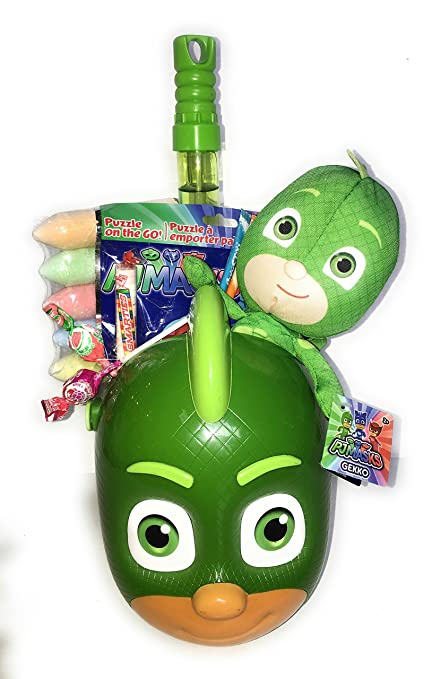 PJ Masks Owlette Happy Easter Basket Deluxe Celebration for Girls and Boys with Eggs candy toys