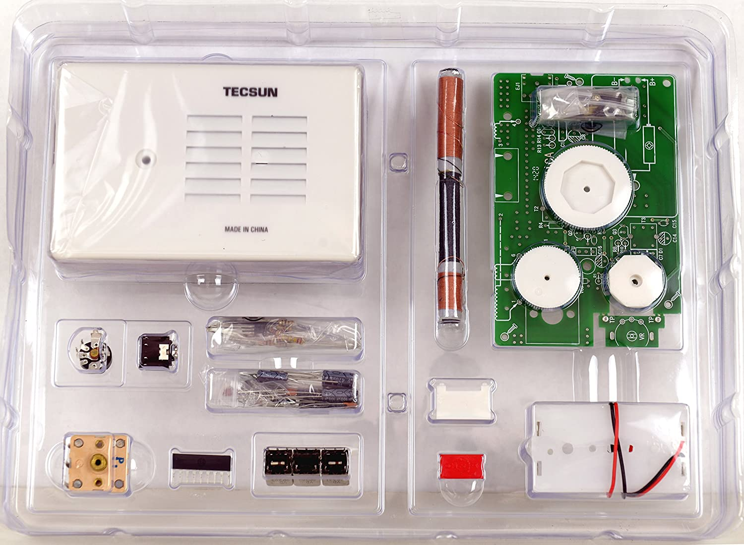 China Digital Fm Receiver Circuit Board Assembly Production Tecsun 2p3 Am Radio Kit Diy For Enthusiasts Built It Into A Case Toys Games