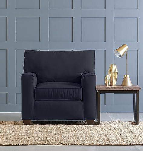 Klaussner Neyland Accent Chair, Indigo