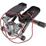 SportPlus Profi-Stepper mit Zugbändern und Trainingscomputer, SP-MSP-008-P