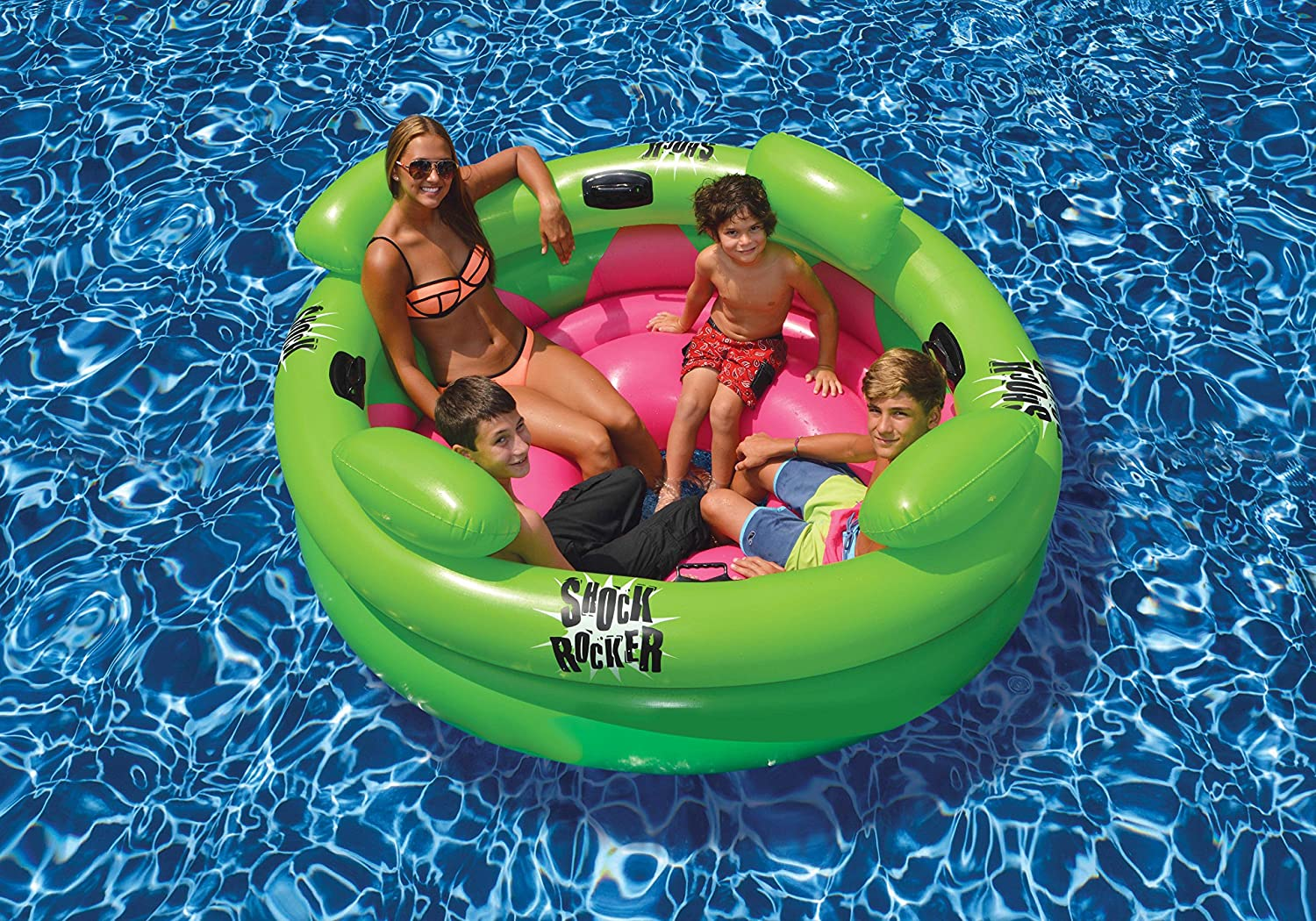 Inflatable Swimming Pool Shock Rocker