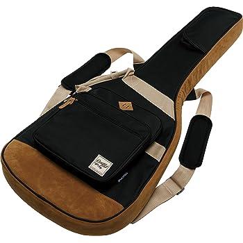 tosnail padded electric guitar gig bag backpack shoulder strap carry handle. Black Bedroom Furniture Sets. Home Design Ideas