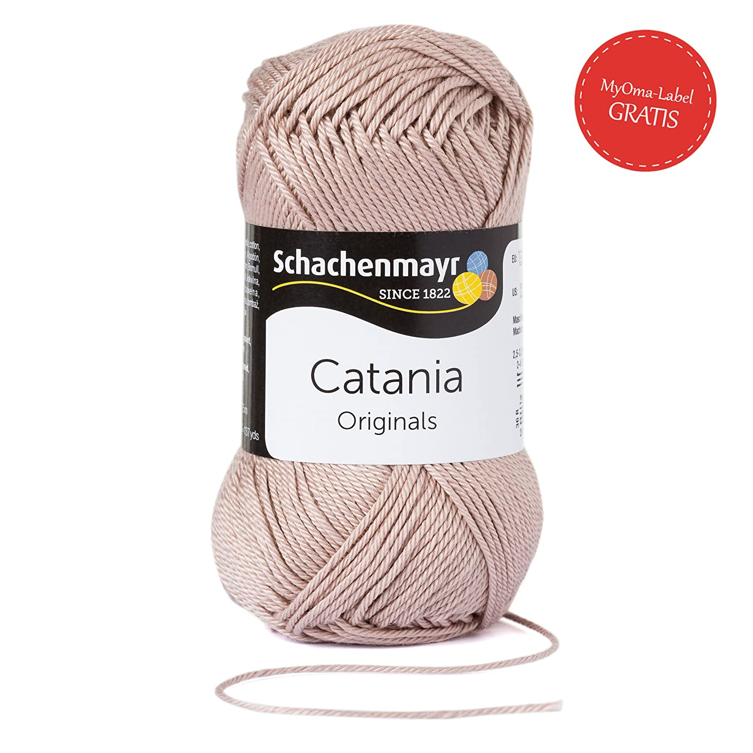 Catania Schachenmayr Wolle Catania Bast Fb 257 Beige Wolle