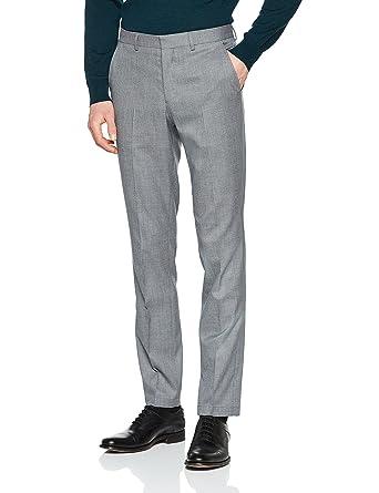Homme Mens Shdslim-Mathcole D. Grey TRS Noos Trouser, Grey (Dark Grey), (Manufacturer Size: 31) Selected