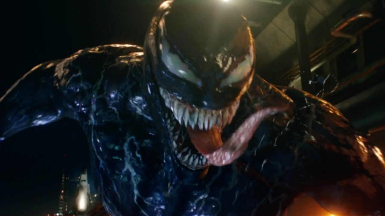Venom is a movie with Tom Hardy where Tom Hardy plays Venom which is a movie with Tom Hardy playing Venom. Hey, that's poetry about Venom.