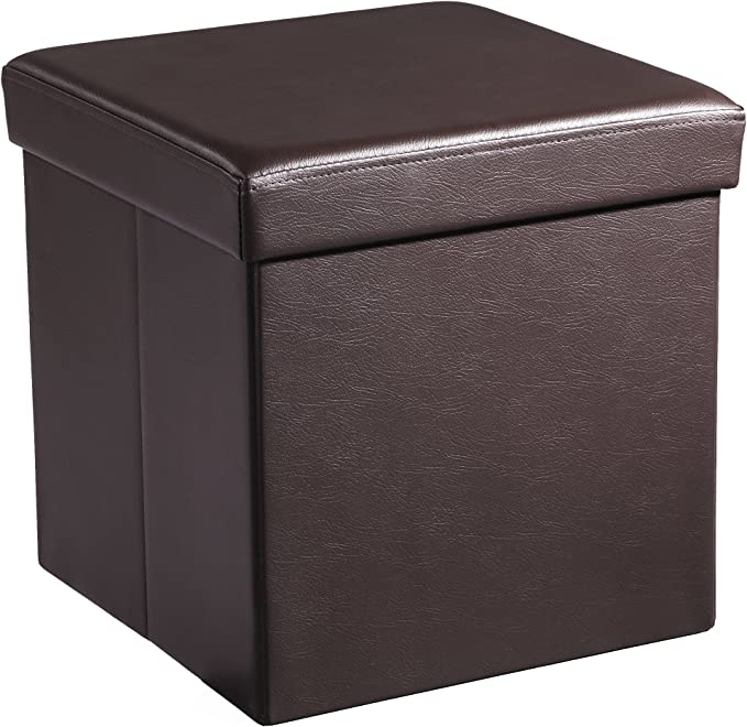 X 15 Storage Ottoman Cube Footrest Stool Coffee Table Puppy Step Holds
