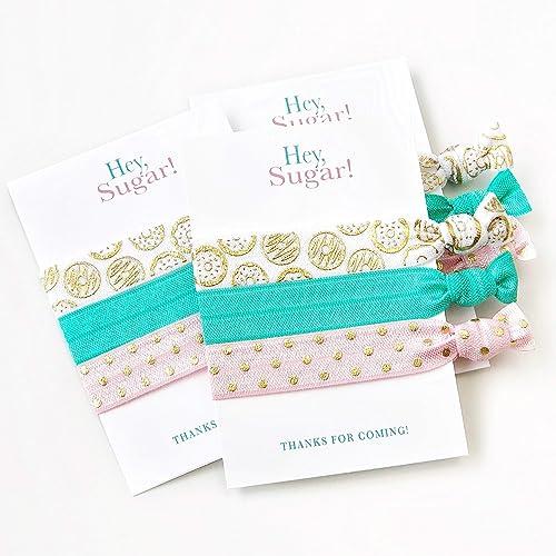 bridal shower decoration ideas homemade.htm amazon com donut party favors  hair ties bracelets  sweets  donut party favors  hair ties bracelets