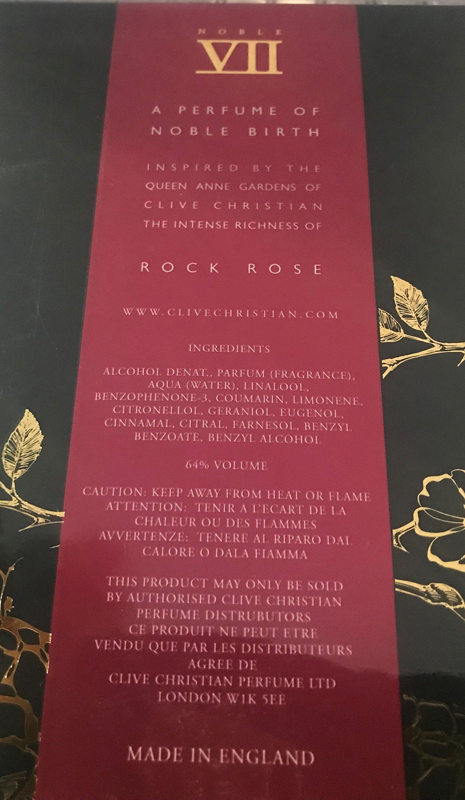 Clive Christian Noble VII Rock Rose 1.6 oz Perfume Spray