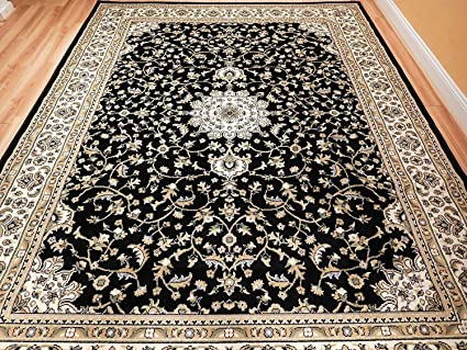 Persian rugs Expensive Image Unavailable Amazoncom Amazoncom Black 8x11 Persian Rug Oriental Rugs 8x10 Area Rug