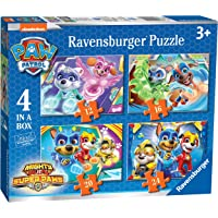 Ravensburger 3029 Paw Patrol Mighty Pups 4 in a Box (12, 16, 20, 24pc) Jigsaw Puzzles,