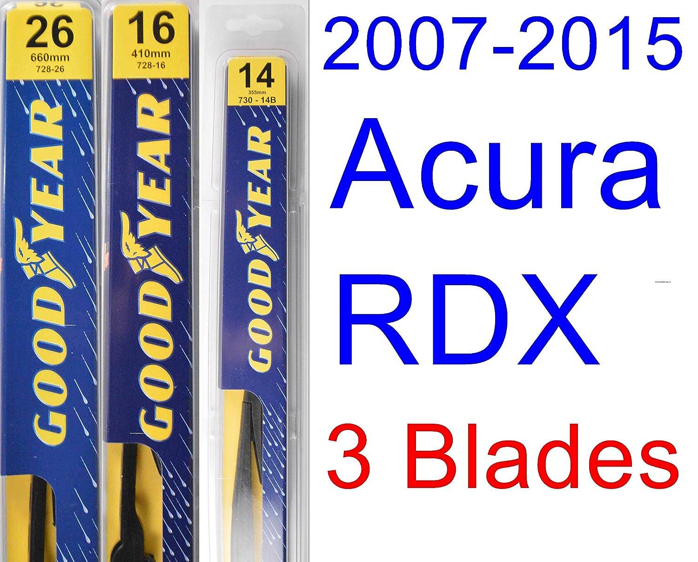 Goodyear Wiper Blades Kit de escobillas de recambio prémium para limpiaparabrisas: Amazon.es: Coche y moto