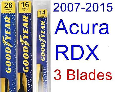 Goodyear Wiper Blades Kit de escobillas de recambio prémium para limpiaparabrisas