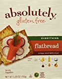 Absolutely Gluten Free Everything Flatbread, 5.29-Ounce (3-Pack)
