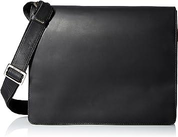 Leather Distressed Messenger Bag