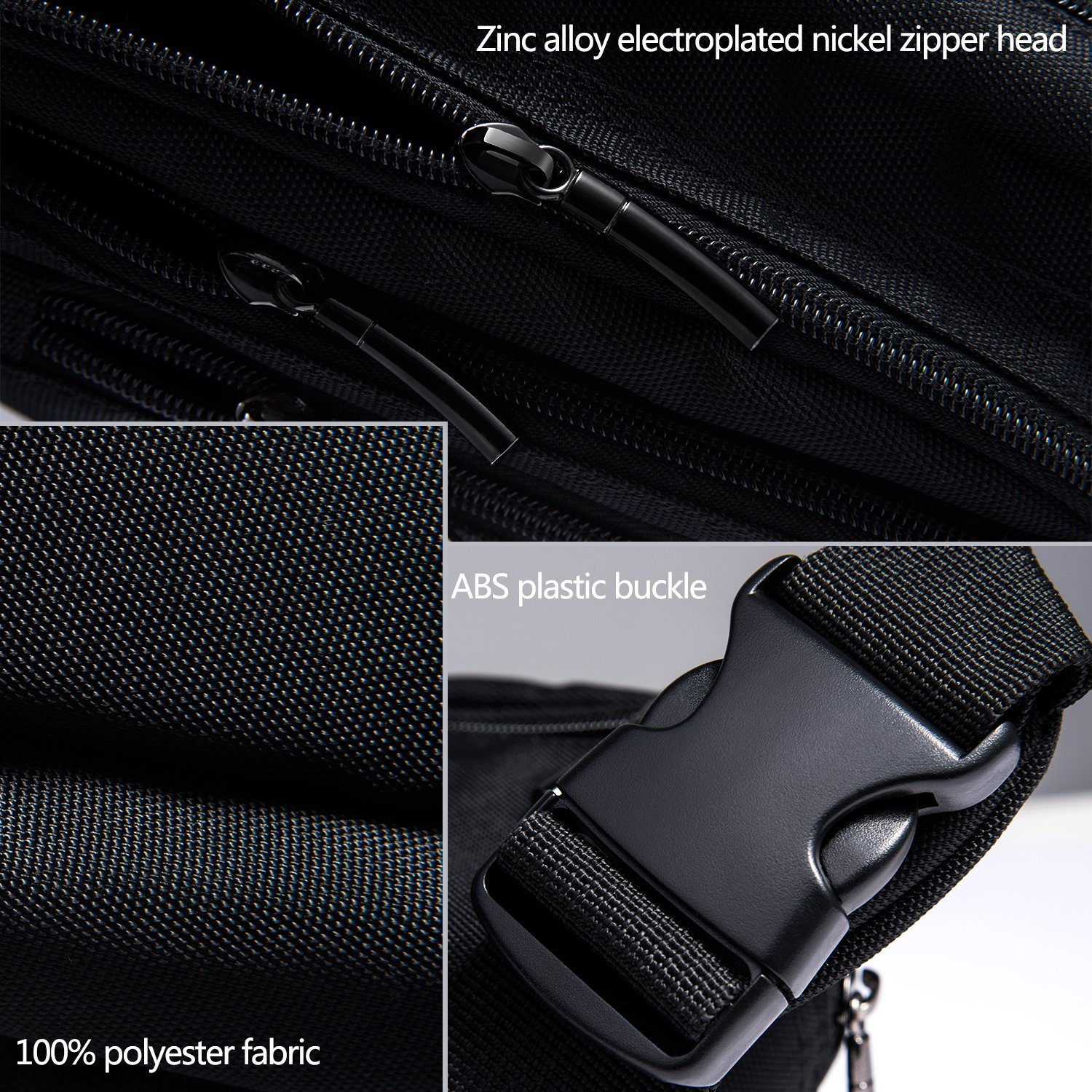 304ed914182 FREETOO Waist Pack Bag Fanny Pack for Men&Women Hip Bum Bag with ...