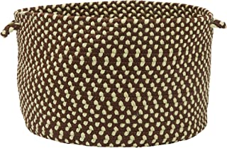 product image for Colonial Mills All-Weather Indoor/Outdoor Storage Basket, Bright Brown